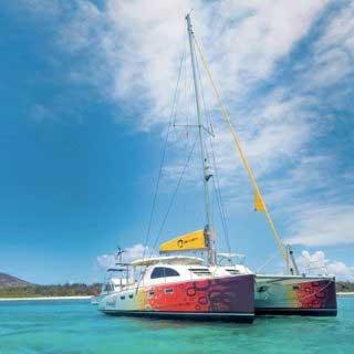 Catamaran à Maurice